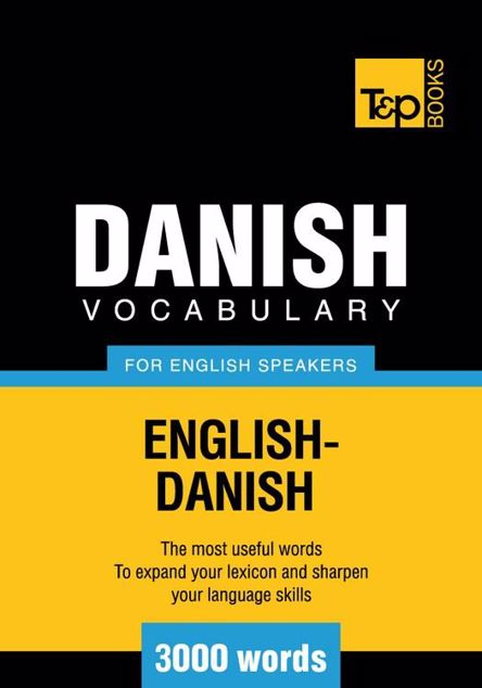 Picture of T&p English-Danish Vocabulary 3000 Words