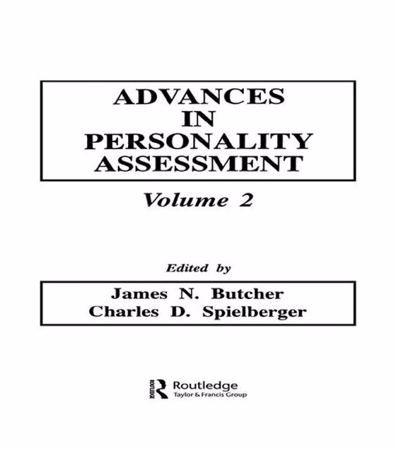 Picture of Advances in Personality Assessment: Volume 2