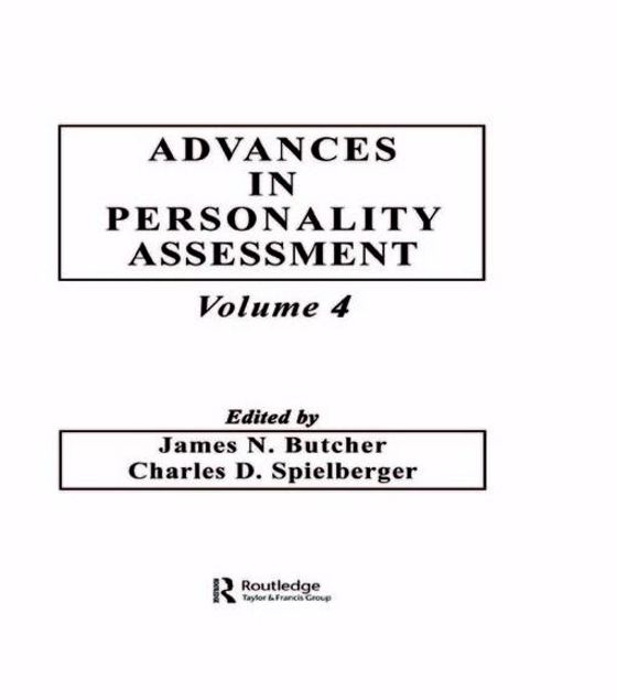 Picture of Advances in Personality Assessment: Volume 4