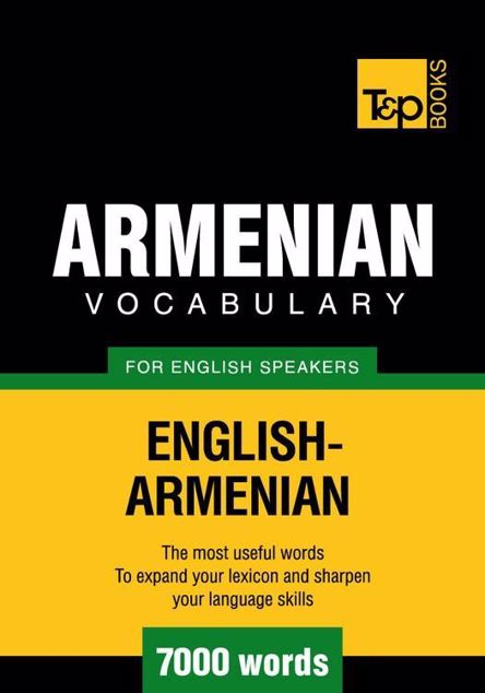 Picture of T&p English-Armenian Vocabulary 7000 Words