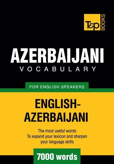 Picture of T&p English-Azerbaijani Vocabulary 7000 Words