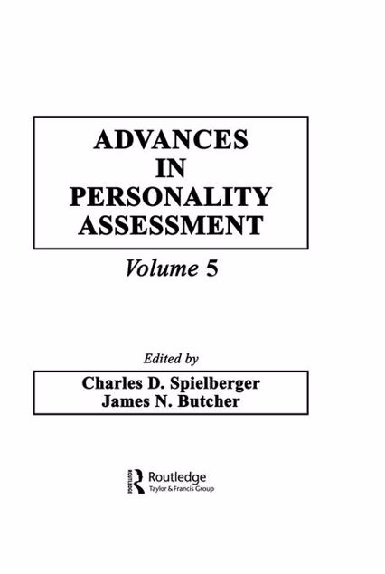 Picture of Advances in Personality Assessment: Volume 5