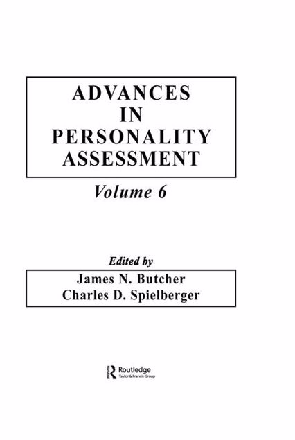 Picture of Advances in Personality Assessment: Volume 6