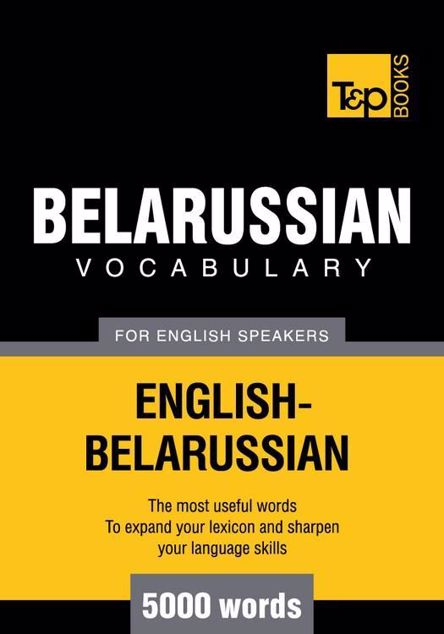 Picture of T&p English-Belarussian Vocabulary 5000 Words