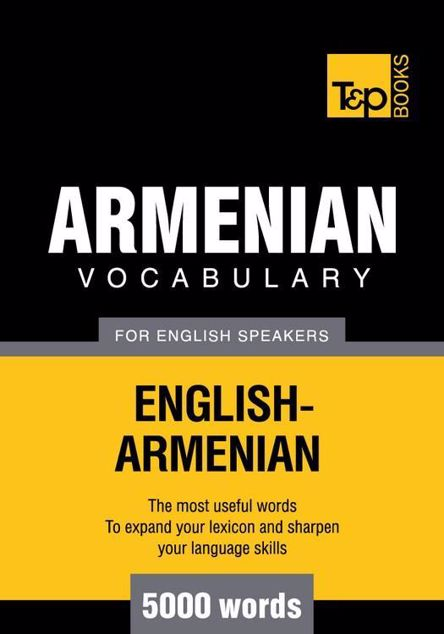 Picture of T&p English-Armenian Vocabulary 5000 Words
