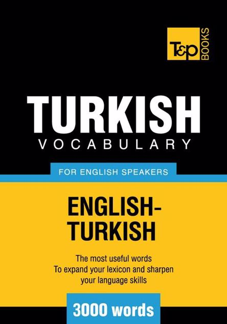 Picture of T&p English-Turkish Vocabulary 3000 Words