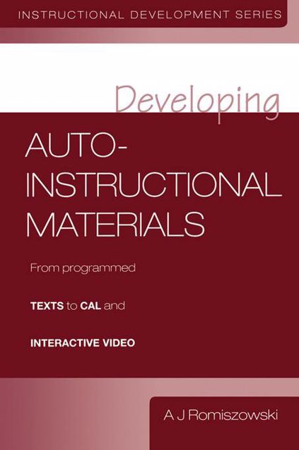 Picture of Developing Auto-Instructional Materials