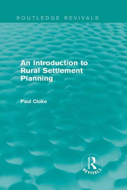 Picture of An Introduction to Rural Settlement Planning