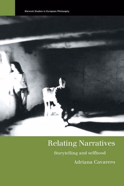 Picture of Relating Narratives: Storytelling and Selfhood