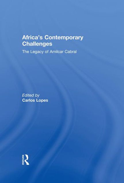 Picture of Amilcar Cabral African Contemp Chal: The Legacy of Amilcar Cabral