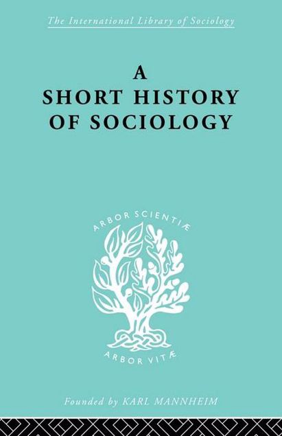Picture of A Short History of Sociology