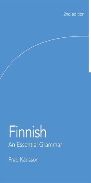 Picture of Finnish: An Essential Grammar