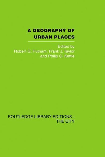 Picture of A Geography of Urban Places