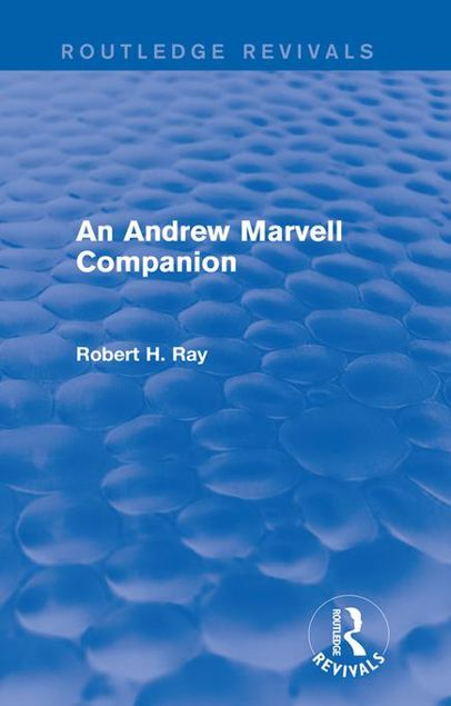 Picture of An Andrew Marvell Companion (Routledge Revivals)