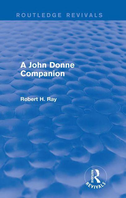 Picture of A John Donne Companion (Routledge Revivals)