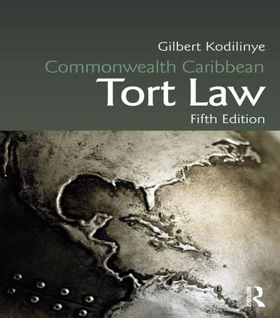 Picture of Commonwealth Caribbean Tort Law