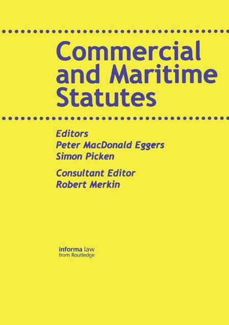 Picture of Commercial and Maritime Statutes