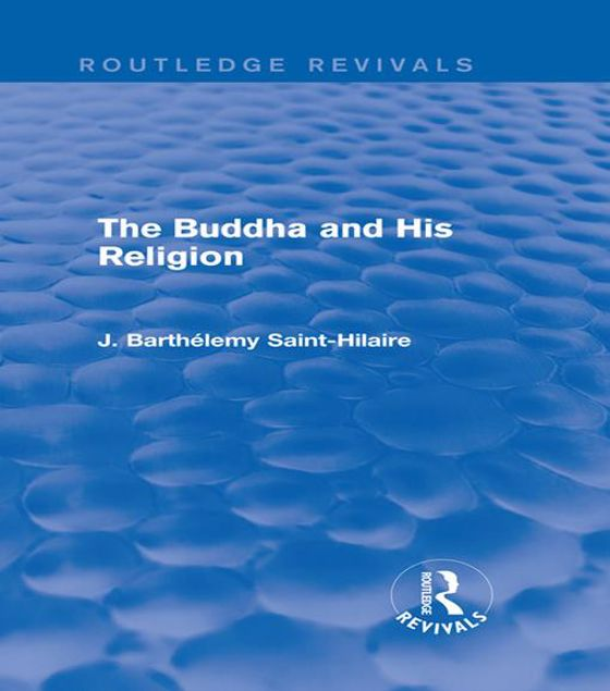 Picture of The Buddha and His Religion (Routledge Revivals)