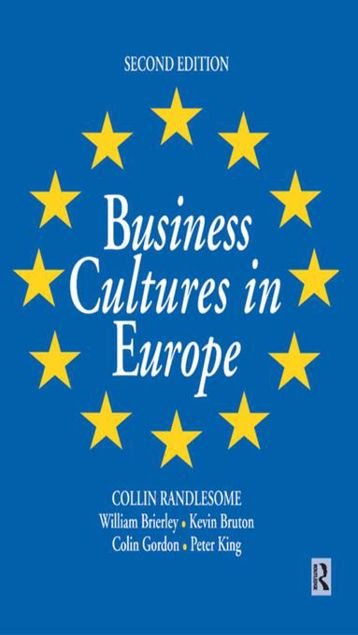 Picture of Business Cultures in Europe