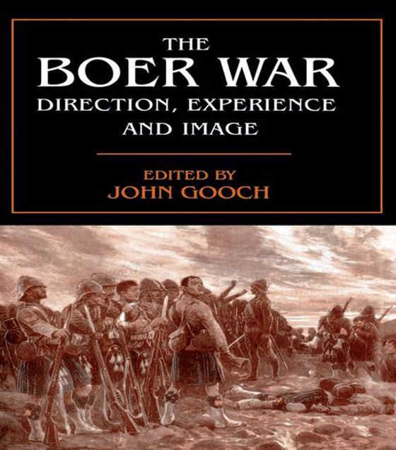 Picture of The Boer War: Direction, Experience and Image