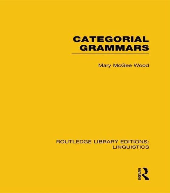 Picture of Categorial Grammars