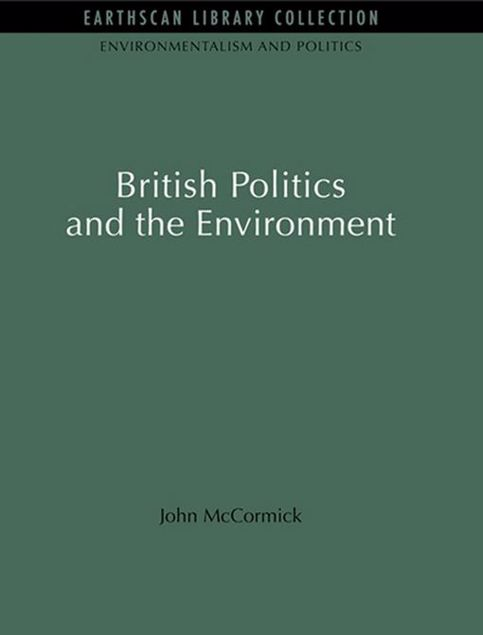 Picture of British Politics and the Environment