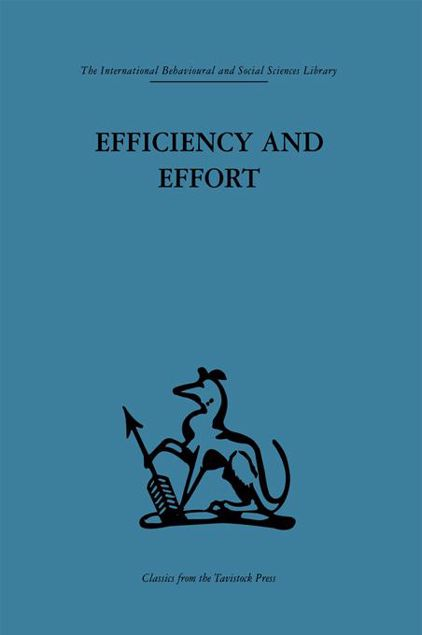 Picture of Efficiency and Effort: An Analysis of Industrial Administration