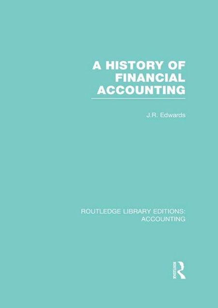 Picture of A History of Financial Accounting