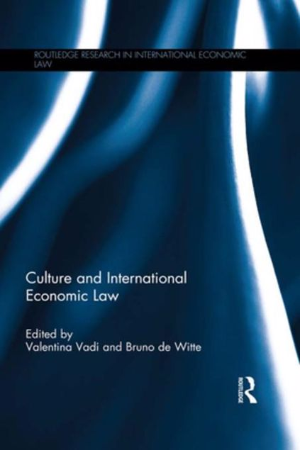 Picture of Culture and International Economic Law