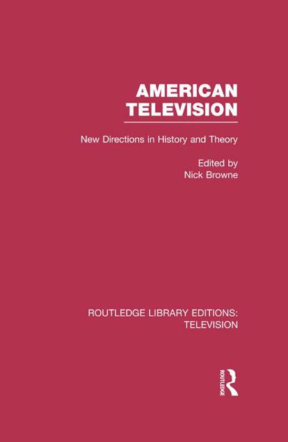 Picture of American Television: New Directions in History and Theory