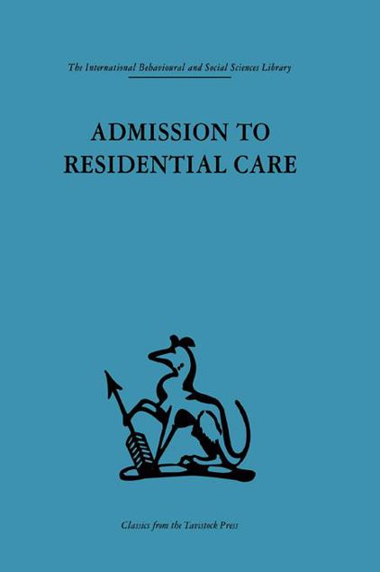 Picture of Admission to Residential Care