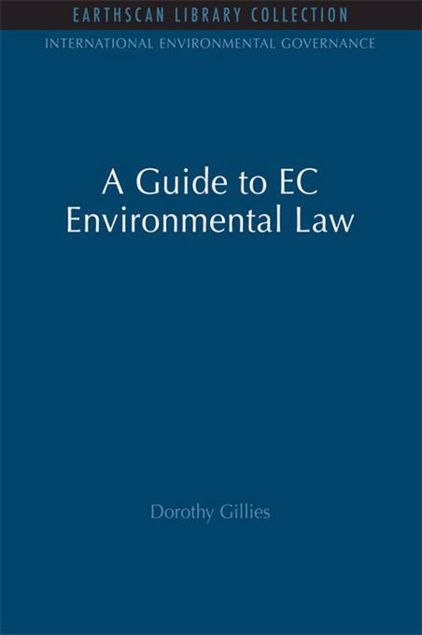 Picture of A Guide to EC Environmental Law