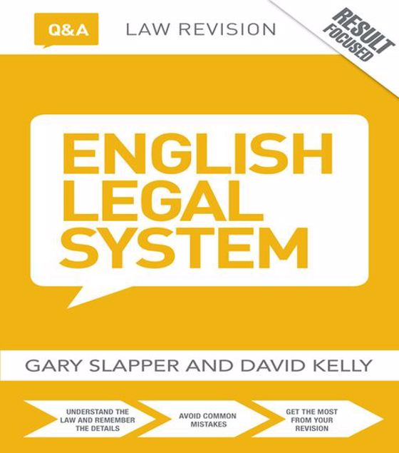 Picture of Q&A English Legal System