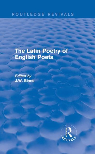 Picture of The Latin Poetry of English Poets
