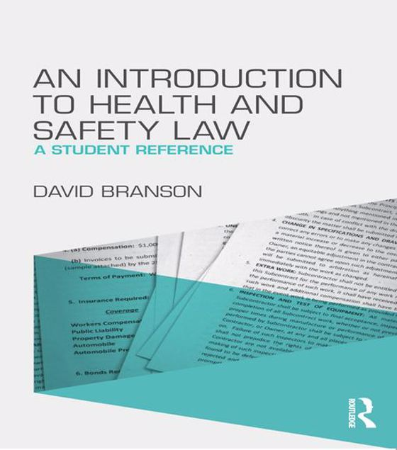 Picture of An Introduction to Health and Safety Law: A Student Reference