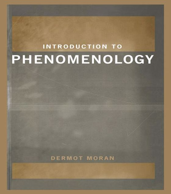 Picture of Introduction to Phenomenology