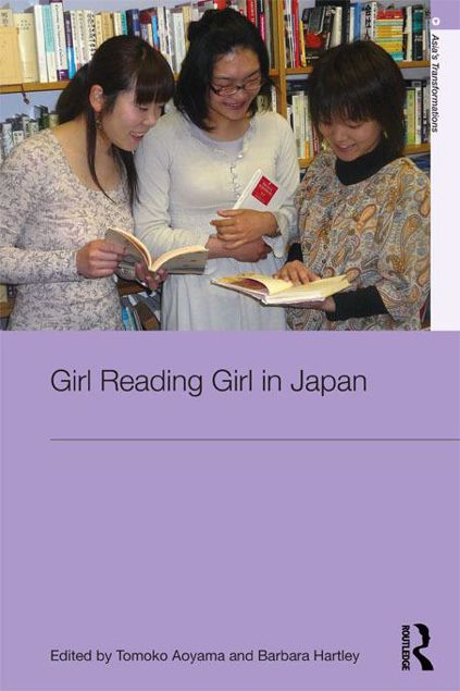 Picture of Girl Reading Girl in Japan