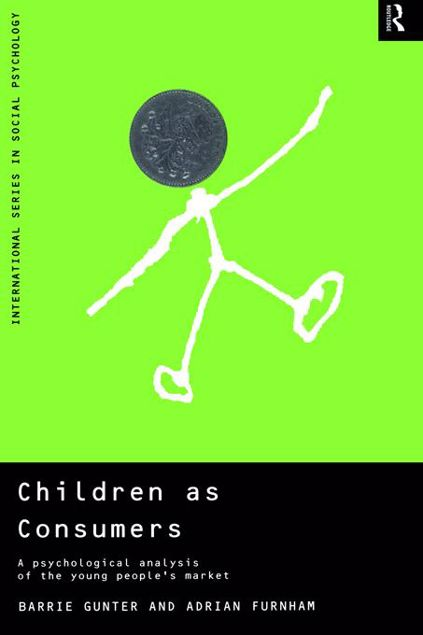 Picture of Children as Consumers: A Psychological Analysis of the Young People's Market
