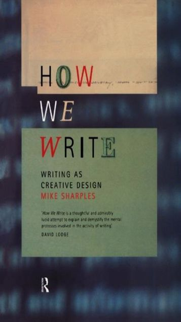 Picture of How We Write: Writing as Creative Design