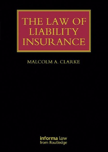 Picture of The Law of Liability Insurance