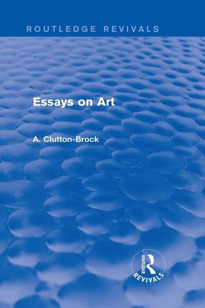 Picture of Essays on Art (Routledge Revivals)
