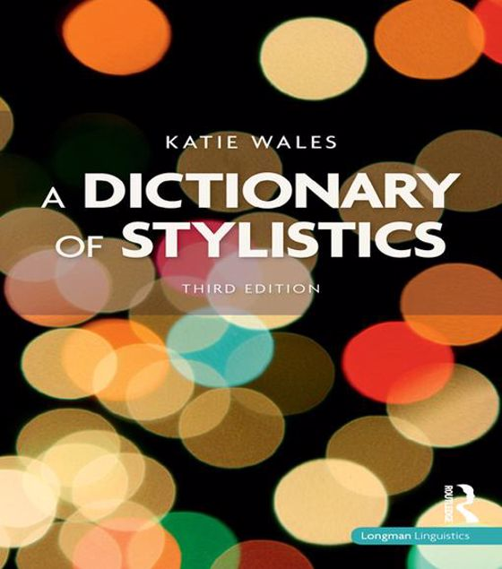 Picture of A Dictionary of Stylistics