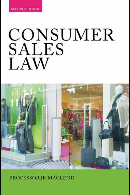Picture of Consumer Sales Law: The Law Relating to Consumer Sales and Financing of Goods