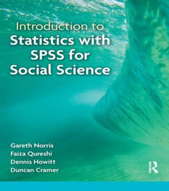 Picture of Introduction to Statistics with SPSS for Social Science