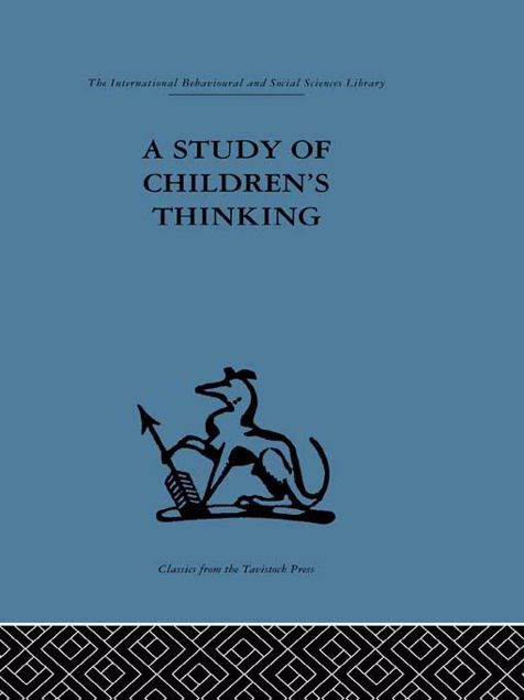 Picture of A Study of Children's Thinking