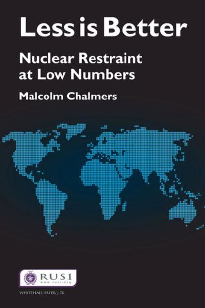Picture of Less is Better: Nuclear Restraint at Low Numbers