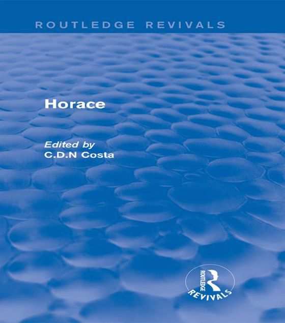 Picture of Horace (Routledge Revivals)