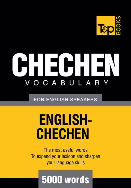 Picture of T&p English-Chechen Vocabulary 5000 Words
