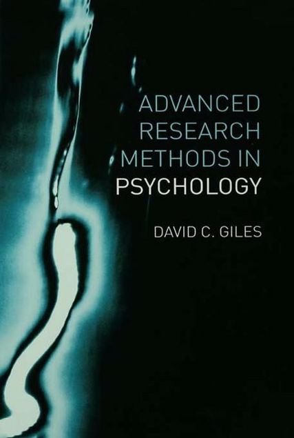 Picture of Advanced Research Methods in Psychology