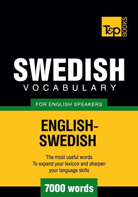 Picture of T&p English-Swedish Vocabulary 7000 Words